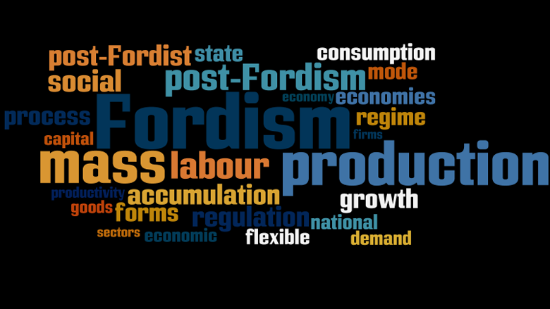 Fordism toyotaism and post fordism